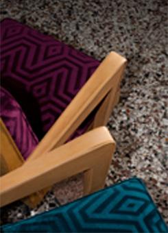 tapissier d corateur les tissus modern illusion. Black Bedroom Furniture Sets. Home Design Ideas