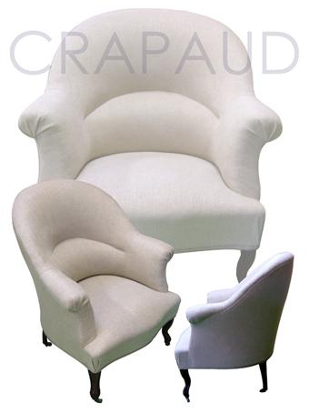 fauteuil crapaud accoudoir. Black Bedroom Furniture Sets. Home Design Ideas